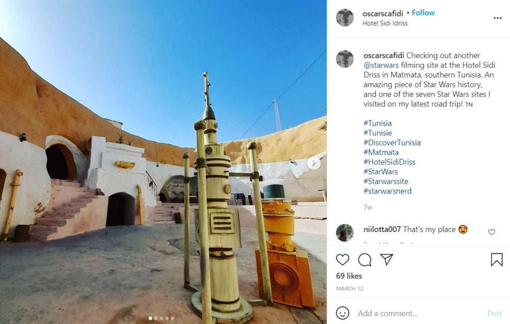 The Hôtel Sidi Driss in Matmata, Tunisia used for Star Wars filming