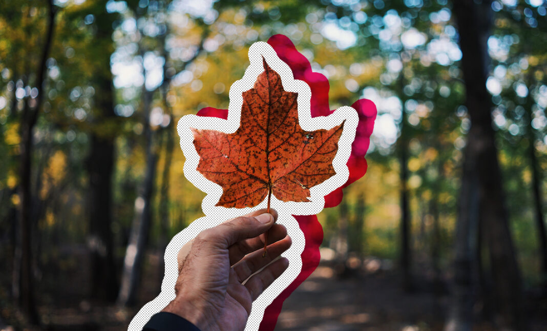 Most canadian places in canada