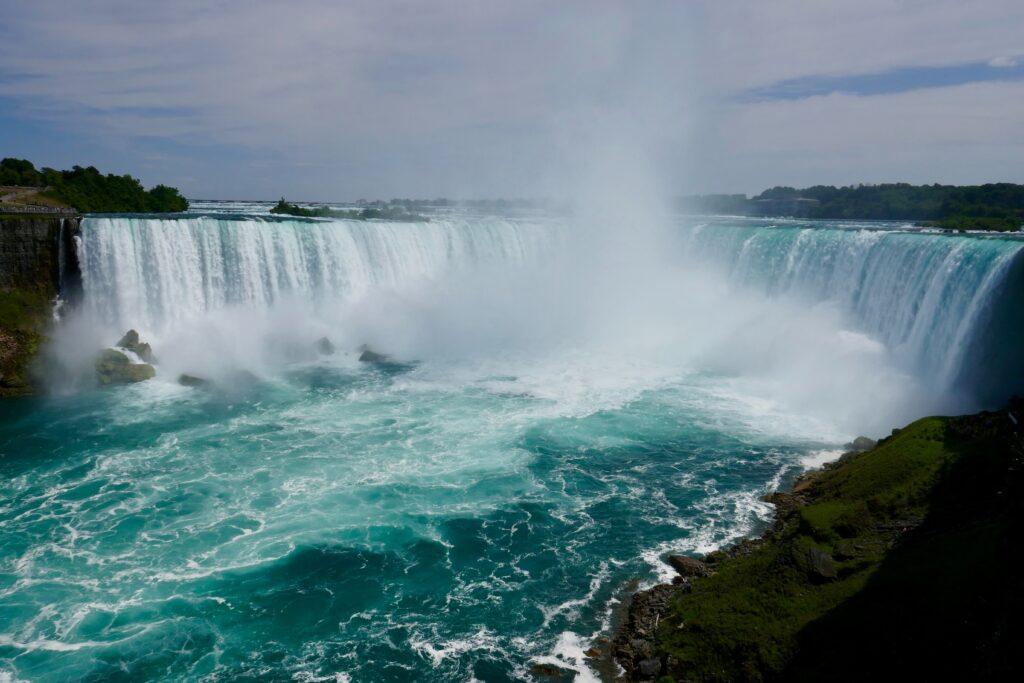 The Canadian side of Niagara Falls, Canada