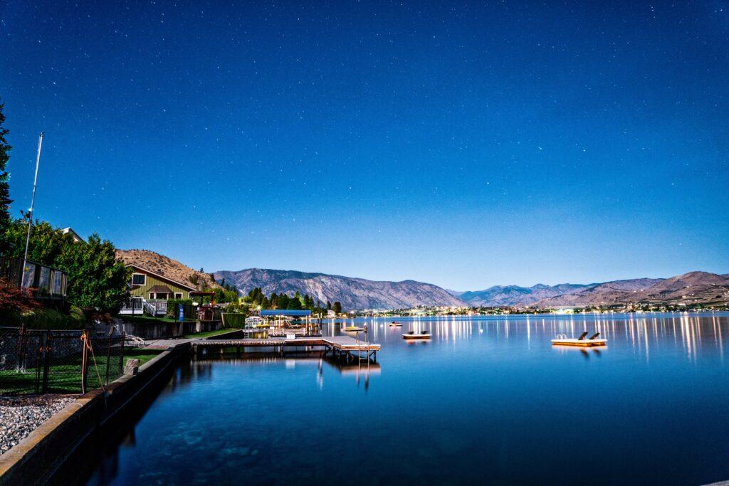 Lake Chelan is a great lake getaway spot