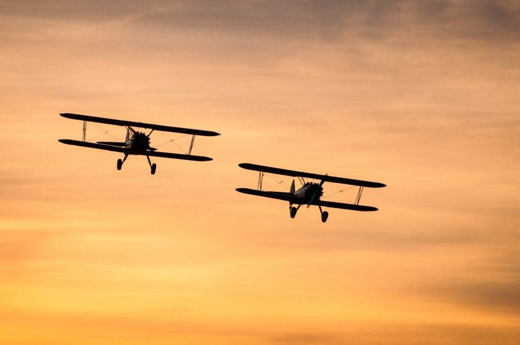 Biplane tours