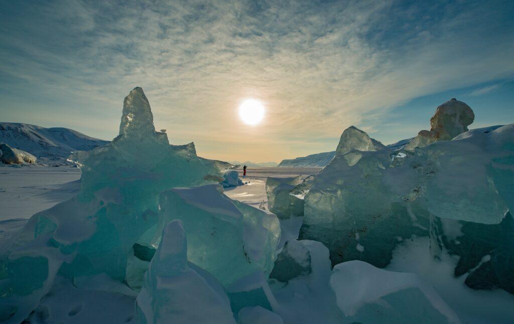 Outdoor adventures in Svalbard