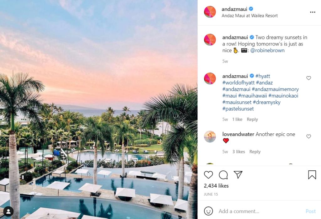 Andaz Maui hotel