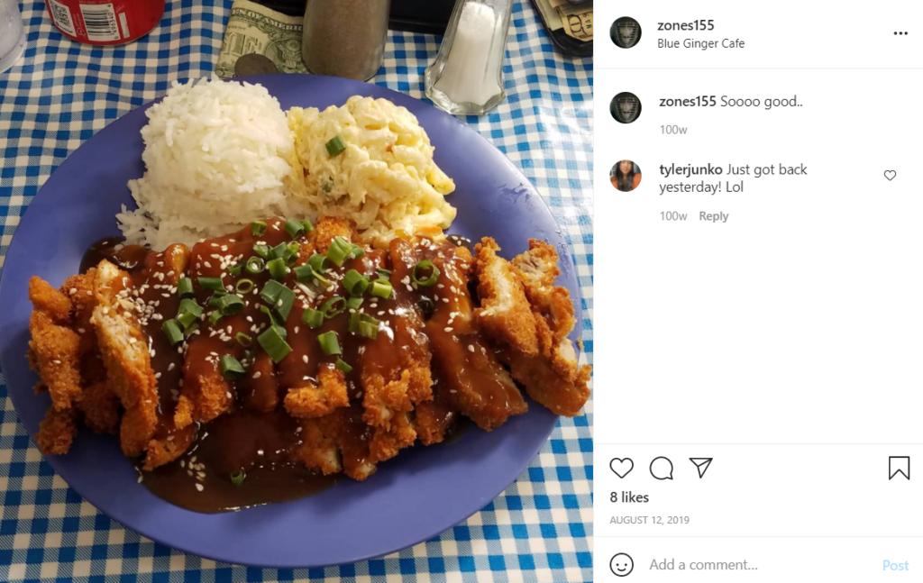 Blue Ginger Cafe in Lanai