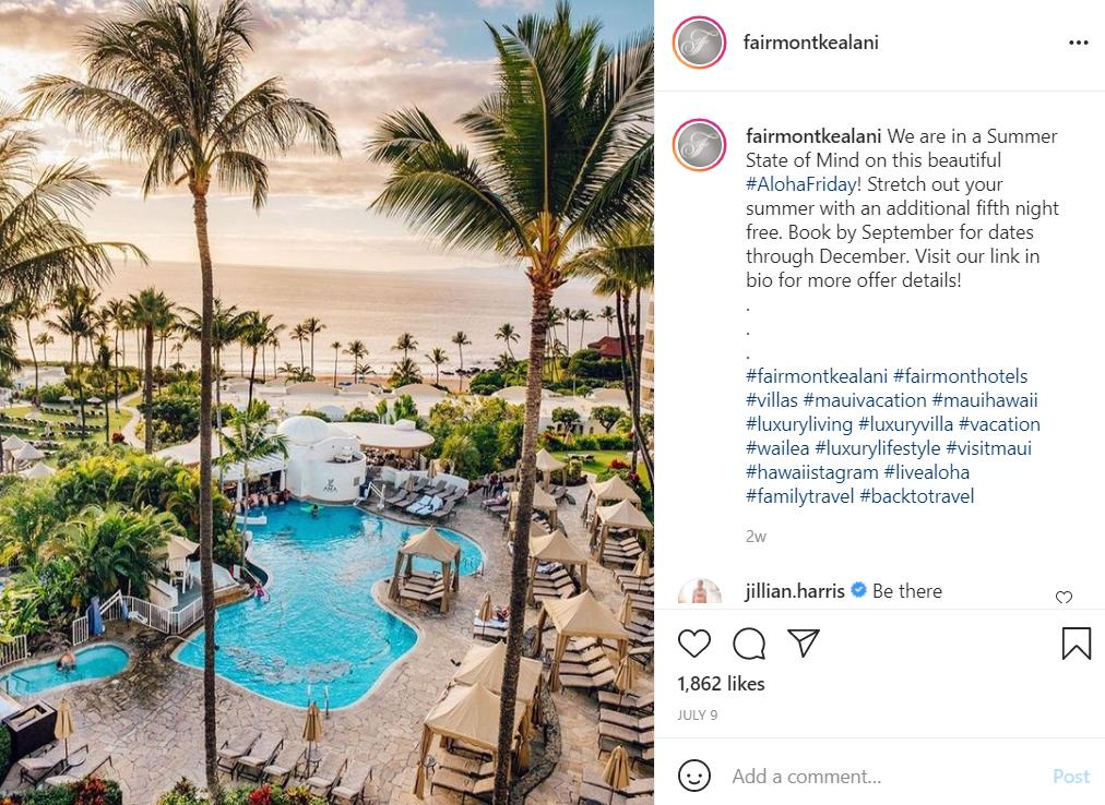 Fairmont Kealani Resort