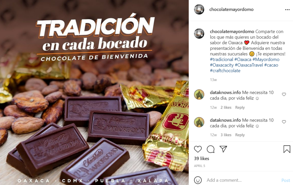 Mayordomo Chocolate