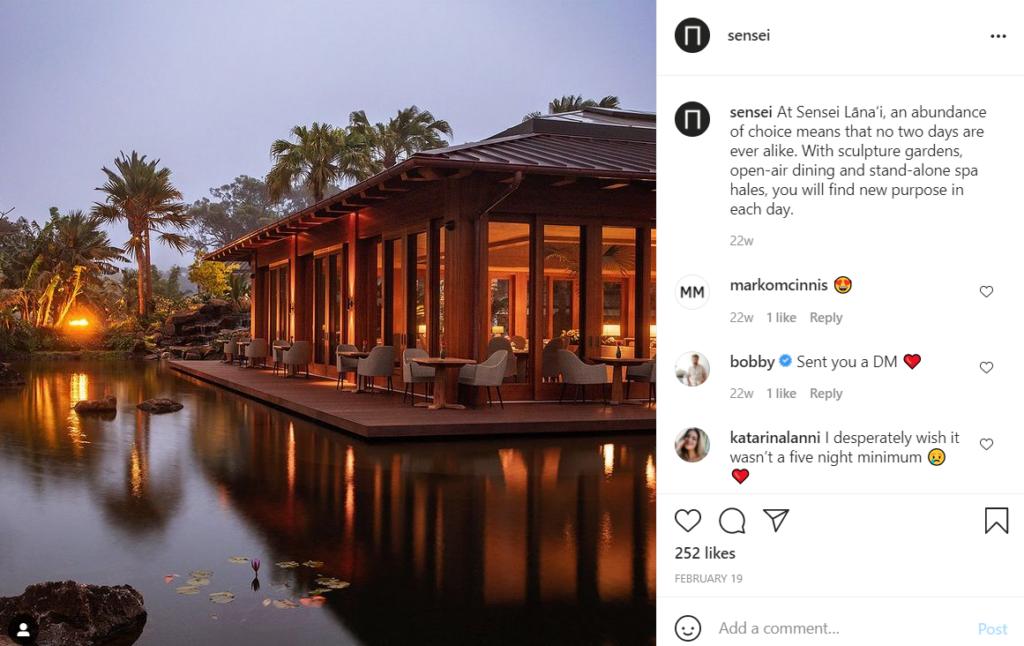 Four Seasons Sensei Lanai Resort