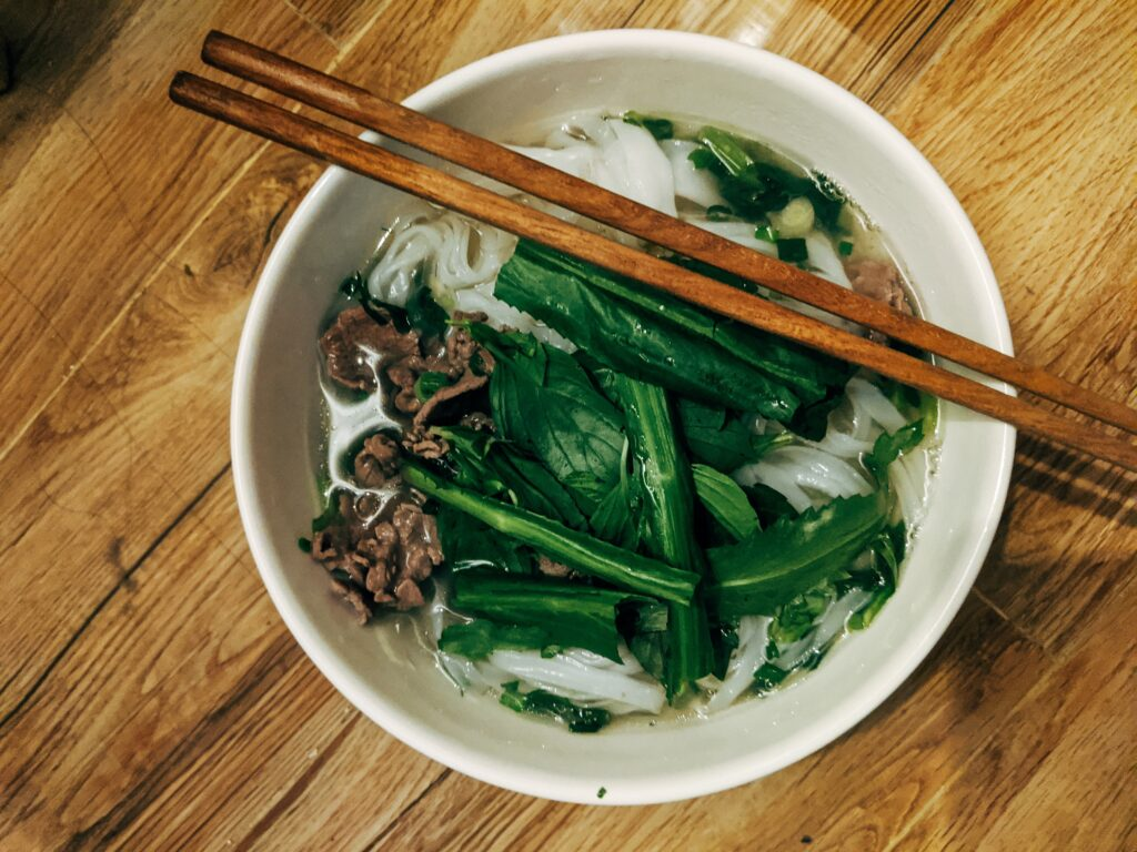 Pho is one of Vietnam's most famous meals
