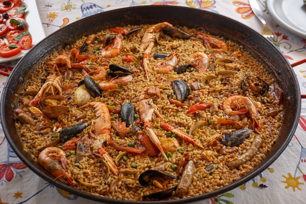 Paella is one of the best meals in Spain