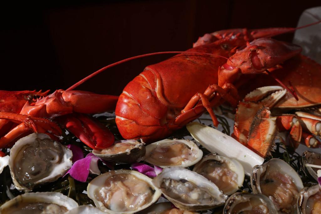Tadich clams lobster