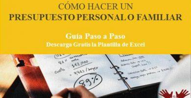 Cómo hacer un presupuesto personal o familiar - Paso a Paso - Excel - 2019