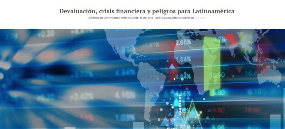 Crisis Financiera en Latinoamerica