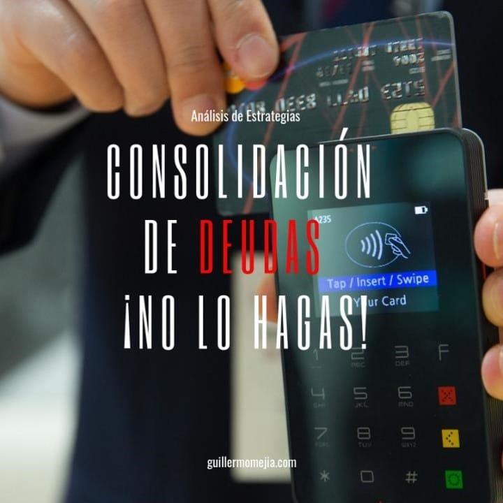 ▷ Consolidación de deudas – Deudas de tarjetas de crédito - ERROR