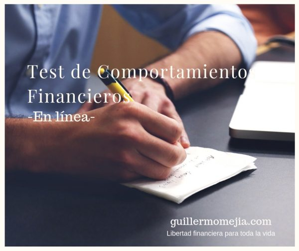 Test de comportamientos financieros