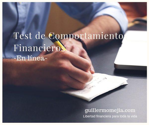 Test de comportamientos financieros