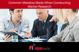 1 - Common Mistakes Made When Conducting Market Research