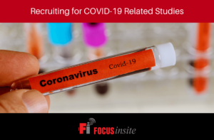 Recruiting for COVID-19 Related Studies