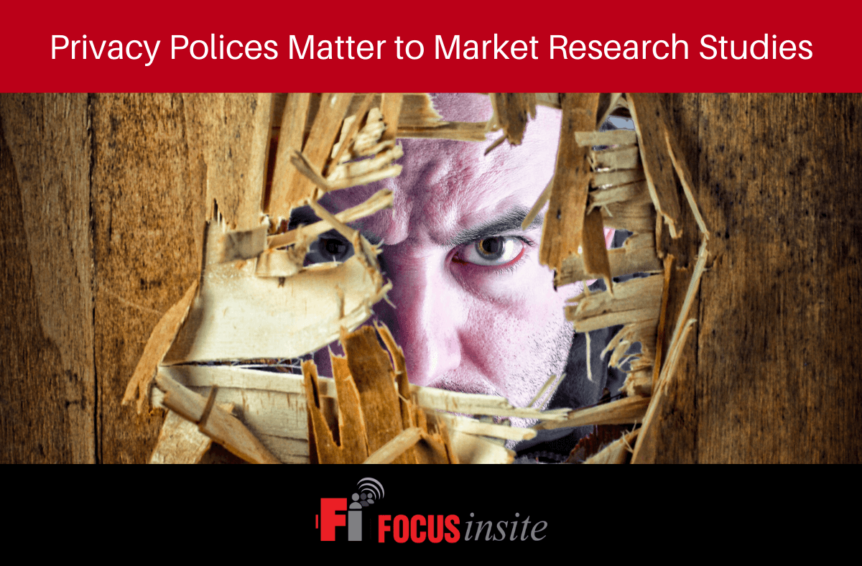 Privacy Polices Matter to Market Research Studies