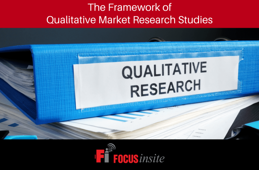 The Framework of Qualitative Market Research Studies