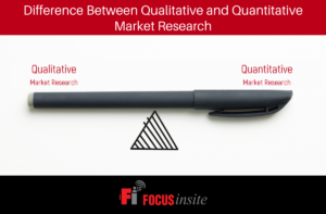 What is the difference between Qualitative and Quantitative Market Research?