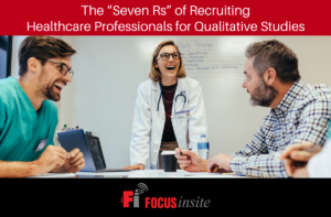"""The """"Seven Rs"""" of Recruiting Healthcare Professionals for Qualitative Studies"""