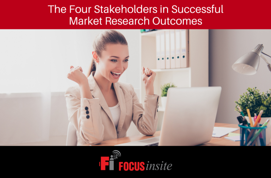 The Four Stakeholders in Successful Market Research Outcomes