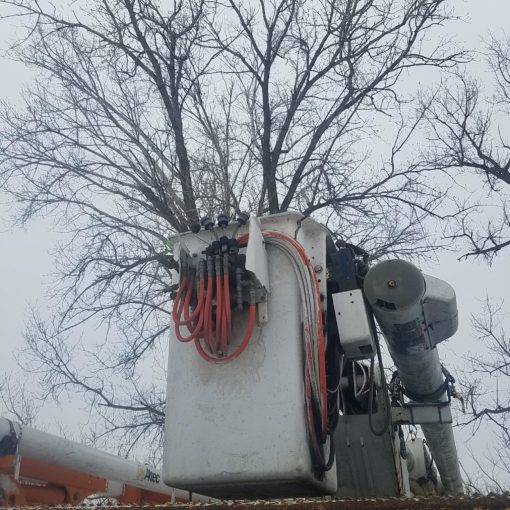 1998 GMC C7500 Bucket Truck with Chip Box