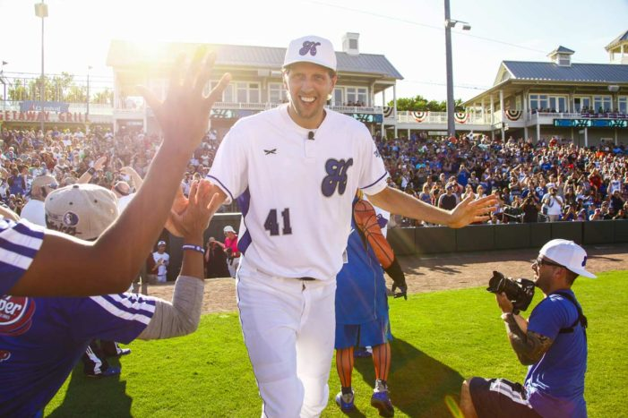Dirk's annual game benefits Heroes