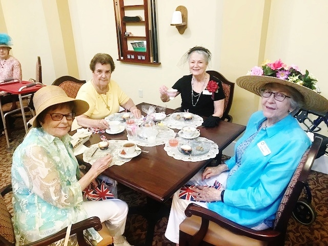 Residents join in on royal festivities