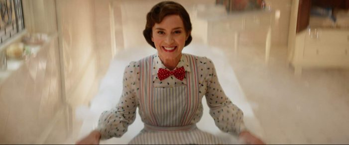 Blunt's performance rescues 'Mary Poppins Returns'