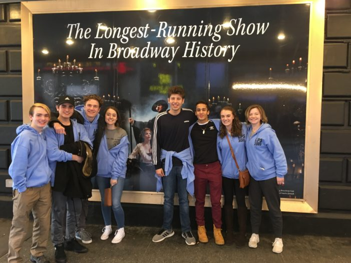 Lakehill students return from a New York state of mind