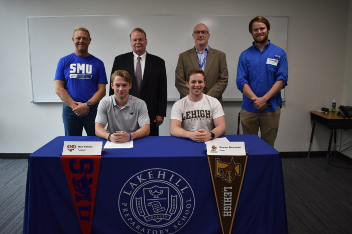 Student athletes ready to take next step