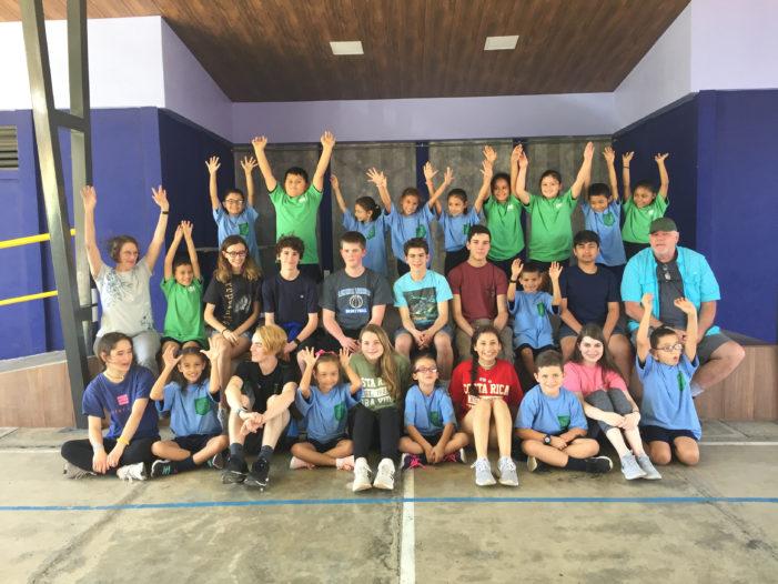 Service work part of adventures in Costa Rica