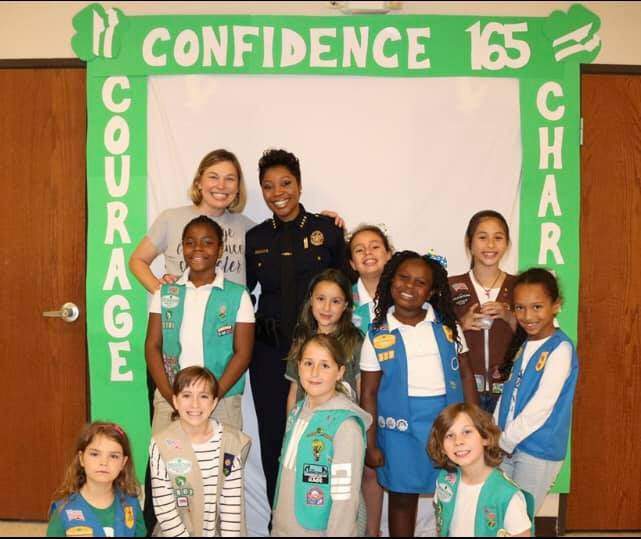 Police Chief inspires scouts to excel