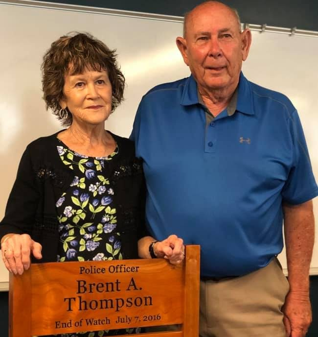 'Honor Chair' presented to DART