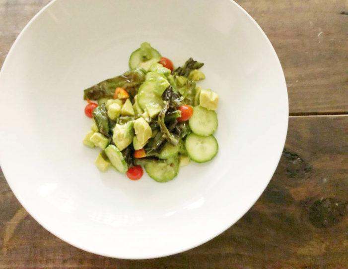 Shishito-Cucumber Salad