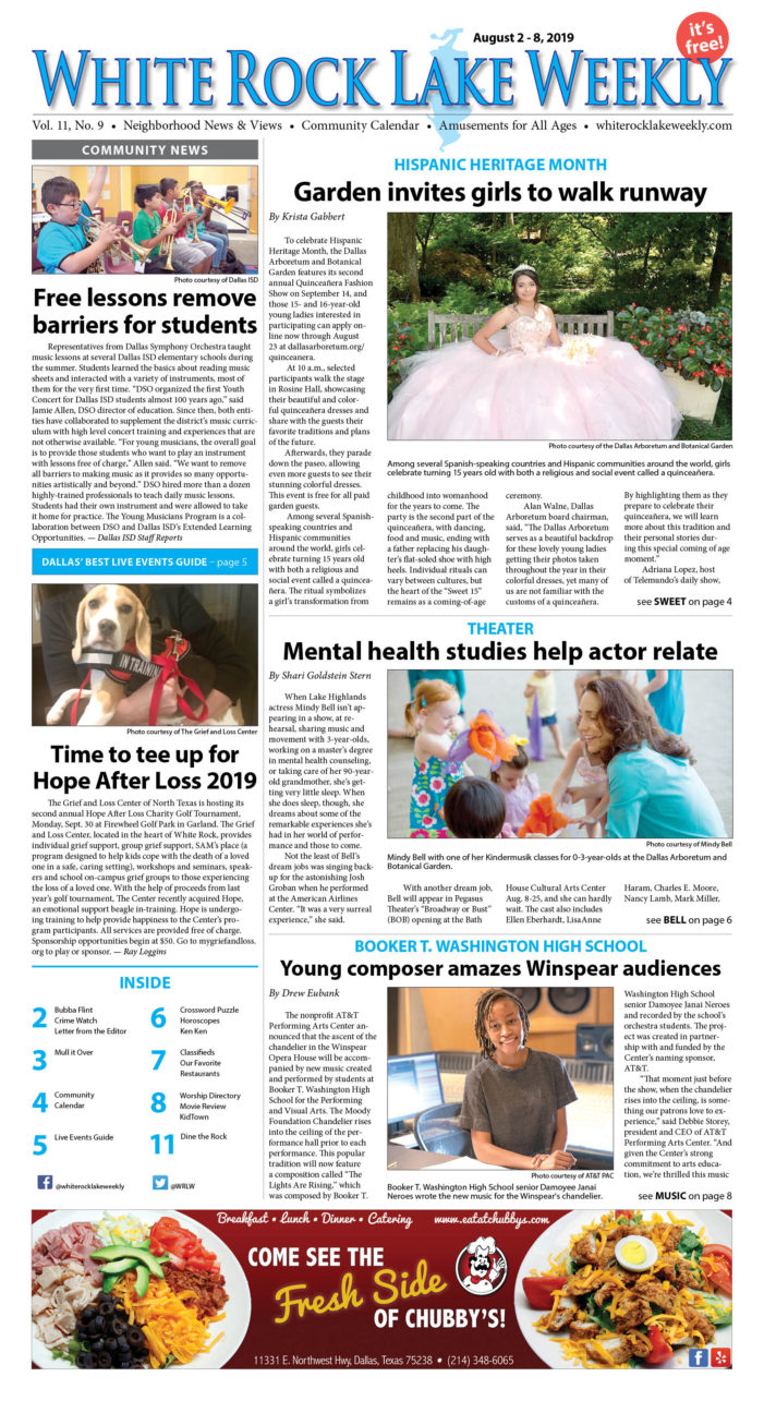 Vol. 11, No. 9, Aug. 2 – 8, 2019