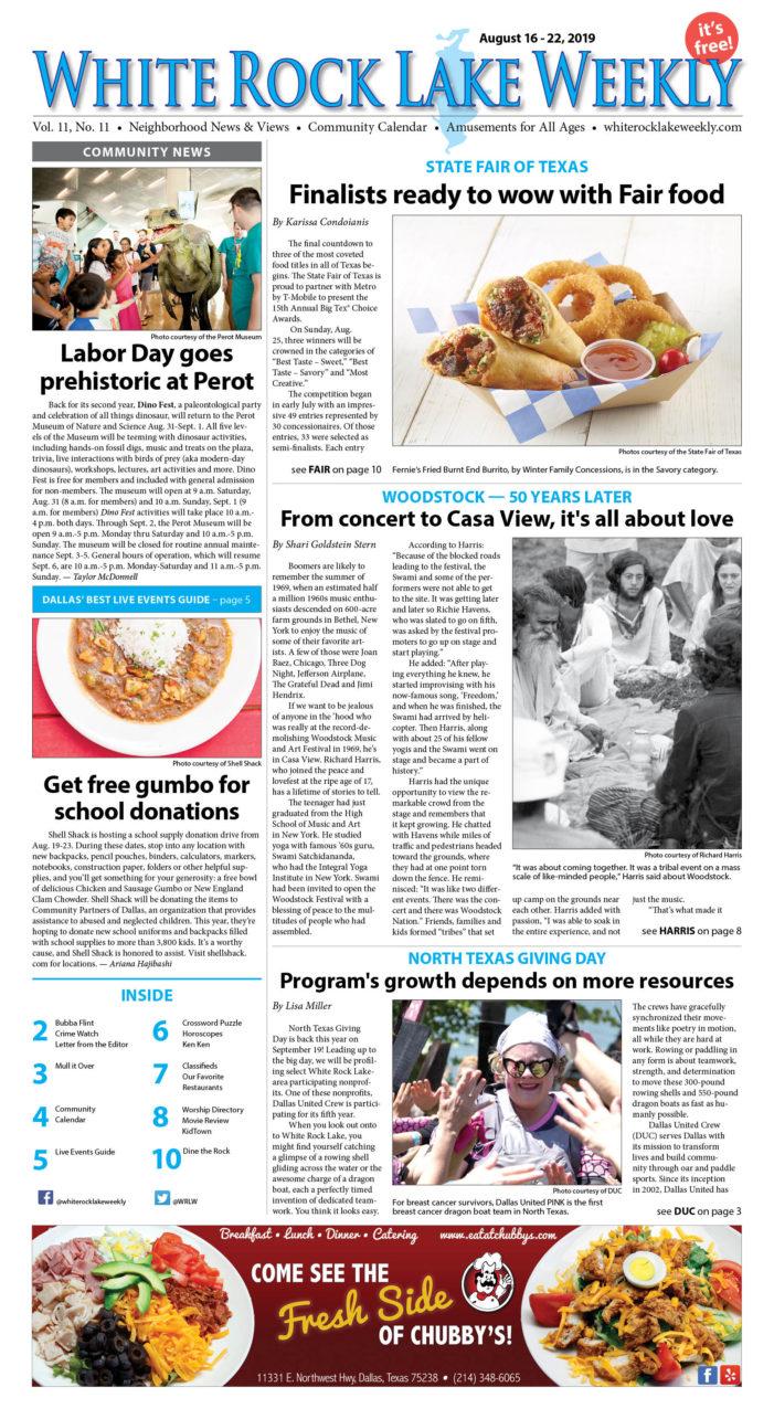 Vol. 11, No. 11, August 16 – 22, 2019