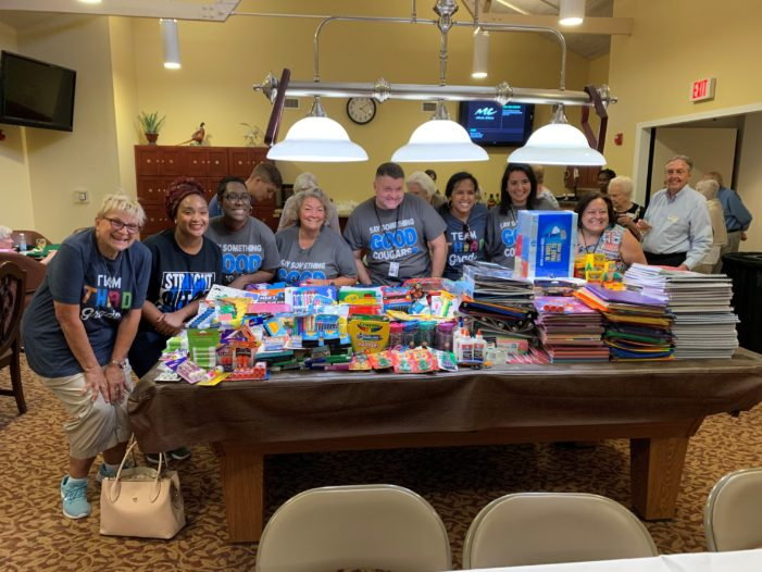 Seniors treat teachers to more than just supplies
