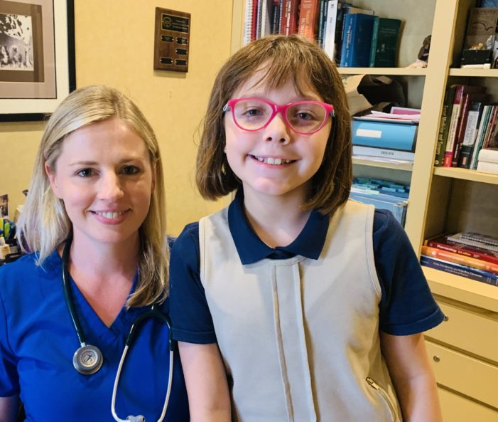 Student inspired by local vet