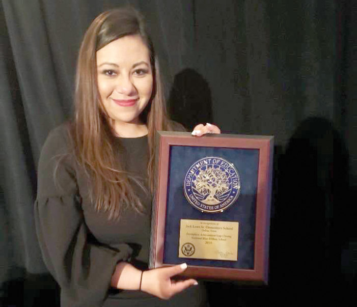 District 3 principal wins national award