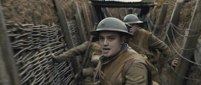 Oscar-bound '1917' testament to bravery, sacrifice