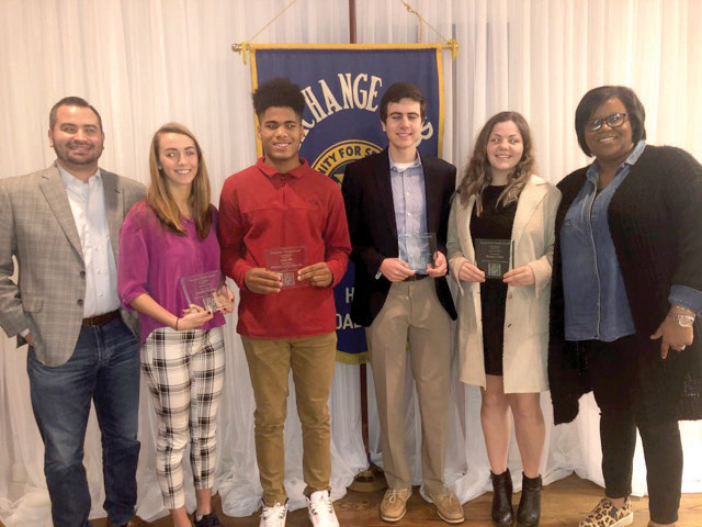 Students awarded for character traits, academics