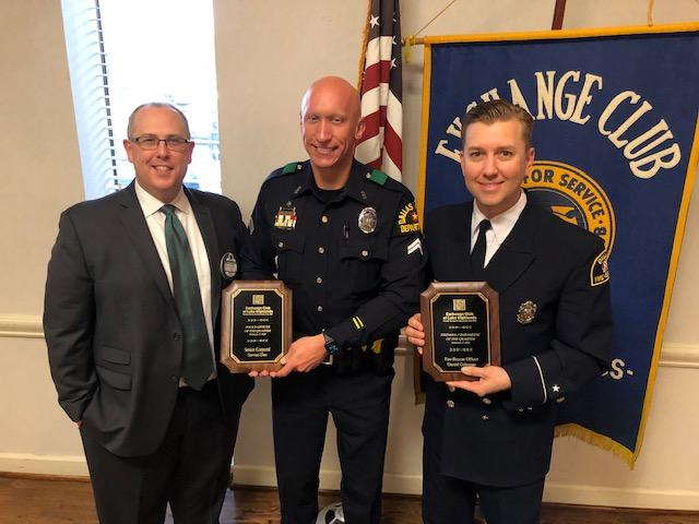 First responders awarded for service