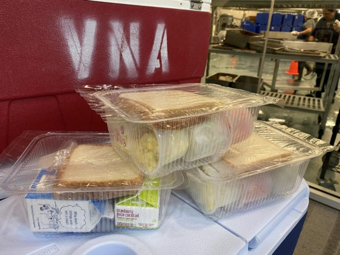 Meals on Wheels still delivering