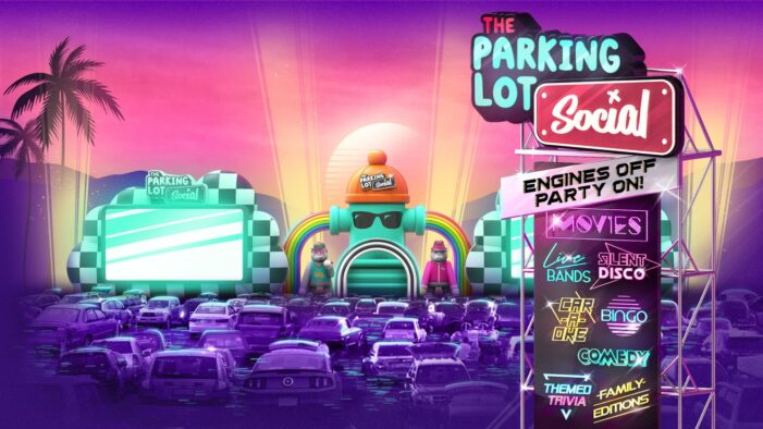 Drive-in evolves into parking lot 'social'