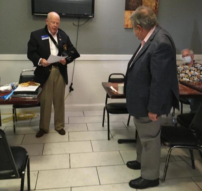 Oncken installed as Rotary president