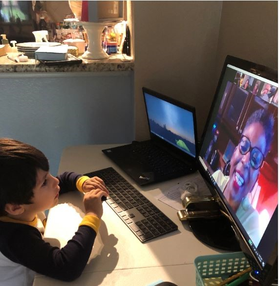 Lumin Education: At home learning in action