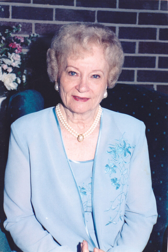 Juanita Smith (Mrs. C. A. Smith)
