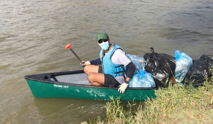 By land or lake, cleanup needed
